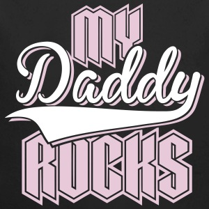 Daddy Rocks 2C Baby Bodys - Baby Bio-Langarm-Body