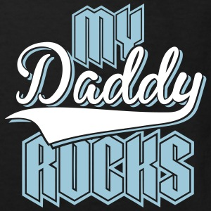 Daddy Rocks 2C T-Shirts - Kinder Bio-T-Shirt