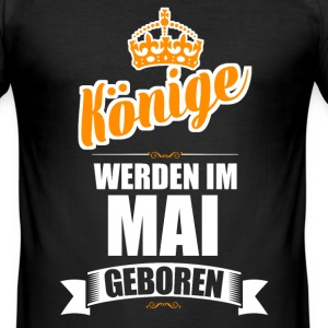 Mai - Männer Slim Fit T-Shirt
