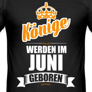 Juni - Männer Slim Fit T-Shirt