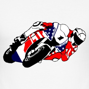 MotoGP - Superbike  T-Shirts - Männer Slim Fit T-Shirt