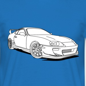 Cool Car White T-Shirts - Männer T-Shirt