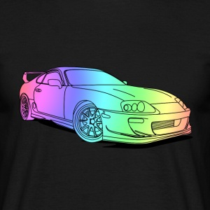 Cool Colourful Car T-shirts - Herre-T-shirt