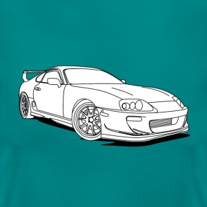 Cool Car White Tee shirts - T-shirt Femme