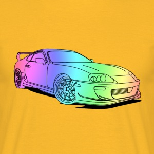 Cool Colourful Car T-Shirts - Men's T-Shirt