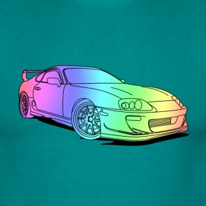 Cool Colourful Car T-shirts - T-shirt herr