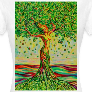 Tree of Life Lebensbaum GREEN APPLE Beauty T-Shirt - Frauen T-Shirt