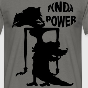 PINDA POWER MANNEN REGULAR - Mannen T-shirt