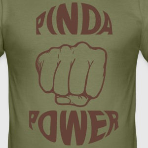PINDA POWER SLIMFIT SHIRT - slim fit T-shirt