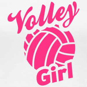 volley girl T-Shirts - Frauen Premium T-Shirt