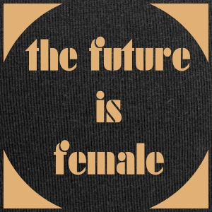 the_future_is_female4 Caps & Hats - Jersey Beanie