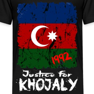 Justice for Khojaly Shirts - Teenage Premium T-Shirt
