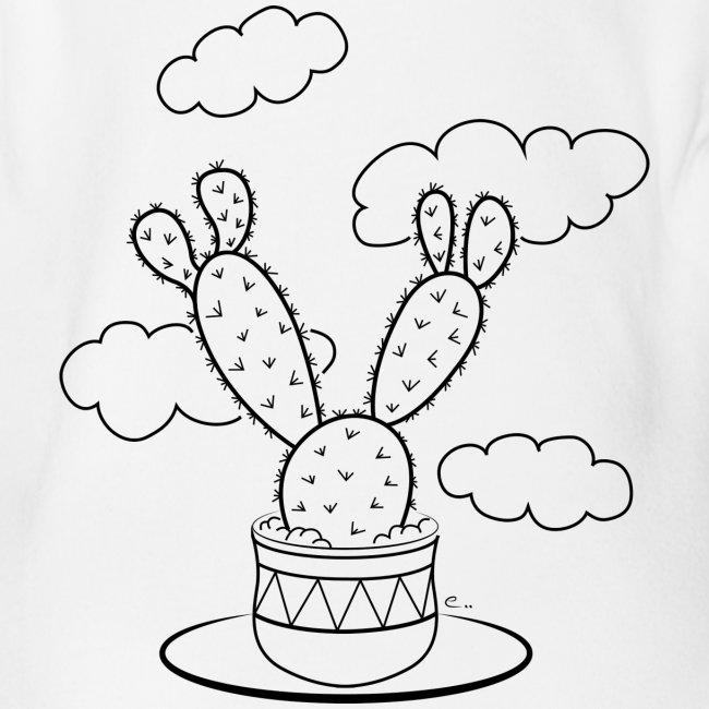 """Body """"Un cactus dans les nuages"""""""