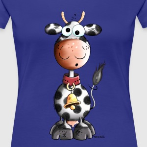 Fluffy Cow T-Shirts - Women's Premium T-Shirt