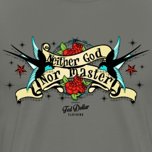Neither god nor master Tee shirts - T-shirt Premium Homme
