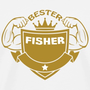 Bester fisher Tee shirts - T-shirt Premium Homme