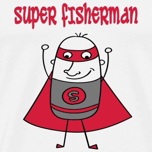 Super fisherman T-Shirts - Men's Premium T-Shirt