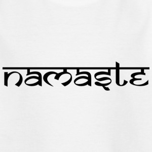 Indischer Gruss Namaste T-Shirts - Teenager T-Shirt