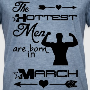 Hottest Men March T-Shirts - Men's Vintage T-Shirt