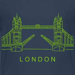 London Tower Bridge Shirts - Teenage Premium T-Shirt