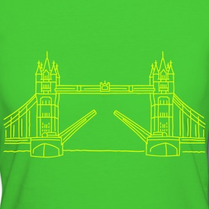 Londres Tower Bridge Tee shirts - T-shirt Bio Femme