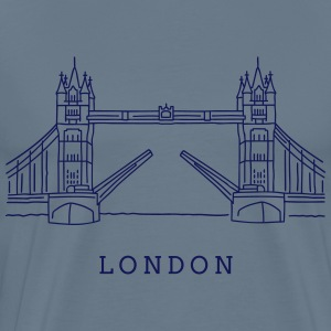 London Tower Bridge T-Shirts - Men's Premium T-Shirt