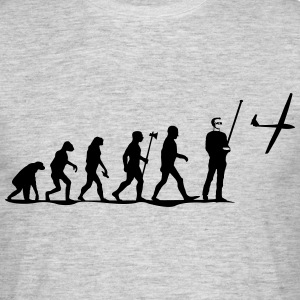 evolution modelvliegen T-Shirts - Mannen T-shirt