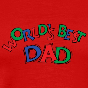 World's Best Dad - Men's Premium T-Shirt