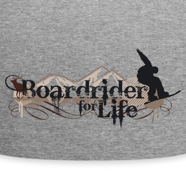 Snowboard Jersey-Beanie Boardrider for Life