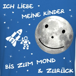 Kinder Mond T-Shirts - Männer Slim Fit T-Shirt