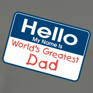 World's Greatest Dad - Men's Premium T-Shirt