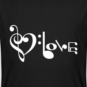 Musique amour Tee shirts - T-shirt bio Homme