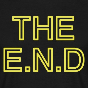 the end T-Shirts - Herre-T-shirt