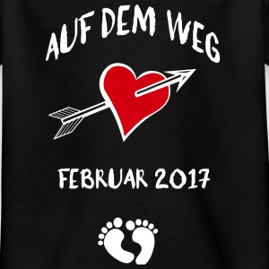 On the way (February 2017) Shirts - Kids' T-Shirt