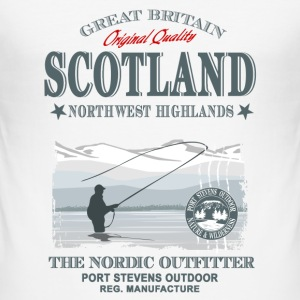 Scotland - Fishing T-Shirts - Männer Slim Fit T-Shirt