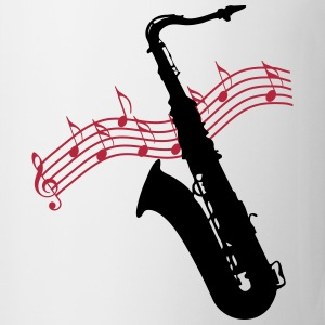 Saxophone / Jazz / Music Mugs & Drinkware - Mug