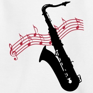 Saxophone / Jazz / Music Shirts - Kids' T-Shirt