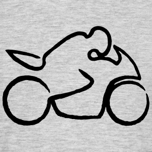 motorcycle rough T-Shirts - Men's T-Shirt