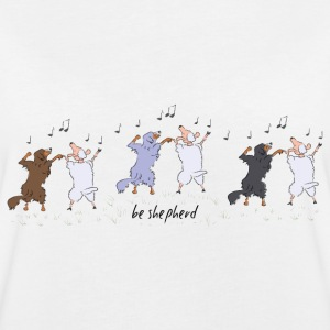 Shepherds and Sheep T-shirts - Oversize-T-shirt dam