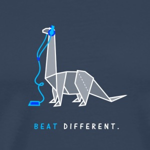 Beat different - Männer Premium T-Shirt