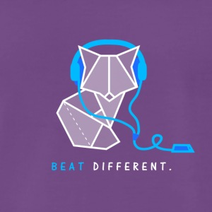 Beat different Fuchs - Männer Premium T-Shirt