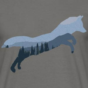 Blue Fox Mountain - Men's T-Shirt