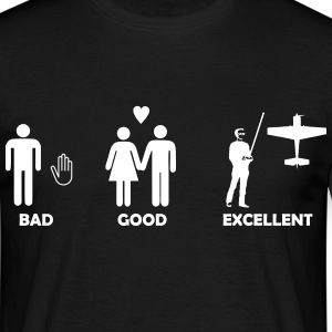 bad good excellent modellfliegen T-Shirts - Männer T-Shirt