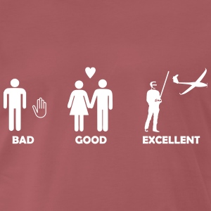 bad good excellent modellfliegen T-Shirts - Männer Premium T-Shirt