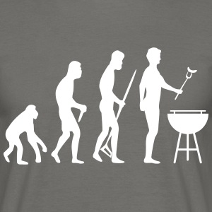 Grill BBQ Evolution - Männer T-Shirt