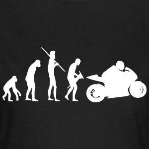 Motorbiker Evolution - Frauen T-Shirt