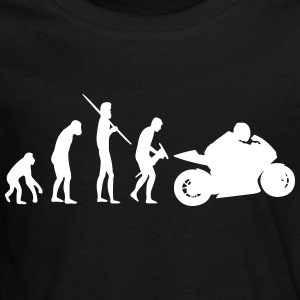 Motorbiker Evolution - Teenager Premium Langarmshirt