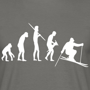 Skiing Evolution Tee shirts - T-shirt Homme