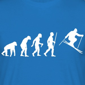 Ski Evolution - Männer T-Shirt