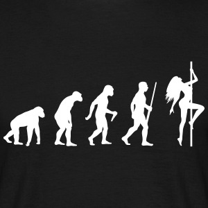 Pool Danceer Evolution - Männer T-Shirt